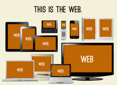 this is now the web
